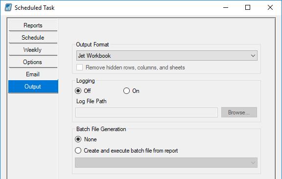 Output Info